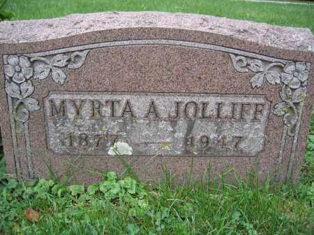 JOLLIFF, MYRTA A. - Union County, Ohio | MYRTA A. JOLLIFF - Ohio Gravestone Photos