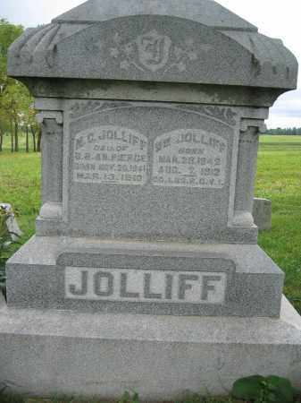 JOLLIFF, M.C. - Union County, Ohio | M.C. JOLLIFF - Ohio Gravestone Photos
