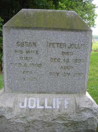 JOLLIFF, PETER - Union County, Ohio | PETER JOLLIFF - Ohio Gravestone Photos