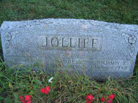 JOLLIFF, BENJAMIN K. - Union County, Ohio | BENJAMIN K. JOLLIFF - Ohio Gravestone Photos