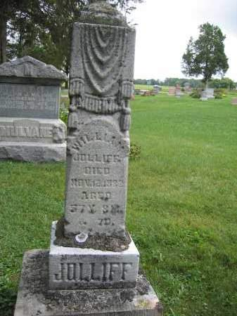 JOLLIFF, WILLIAM - Union County, Ohio | WILLIAM JOLLIFF - Ohio Gravestone Photos