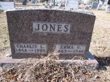 JONES, CHARLIE L. - Union County, Ohio | CHARLIE L. JONES - Ohio Gravestone Photos