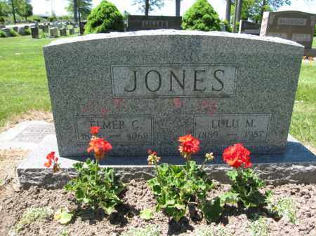 JONES, LULU M. - Union County, Ohio | LULU M. JONES - Ohio Gravestone Photos