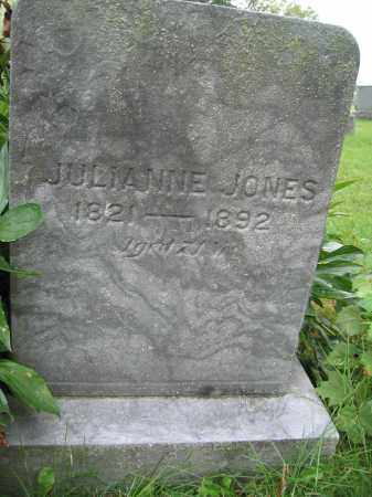 JONES, JULIANNE - Union County, Ohio | JULIANNE JONES - Ohio Gravestone Photos