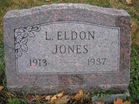 JONES, L. ELDON - Union County, Ohio | L. ELDON JONES - Ohio Gravestone Photos