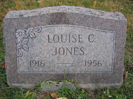 JONES, LOUISE C. - Union County, Ohio | LOUISE C. JONES - Ohio Gravestone Photos