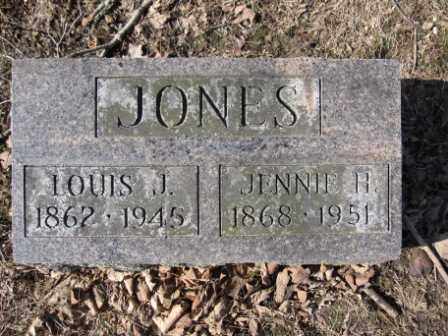 JONES, JENNIE H. - Union County, Ohio | JENNIE H. JONES - Ohio Gravestone Photos