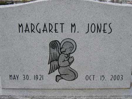 JONES, MARGARET M. - Union County, Ohio | MARGARET M. JONES - Ohio Gravestone Photos