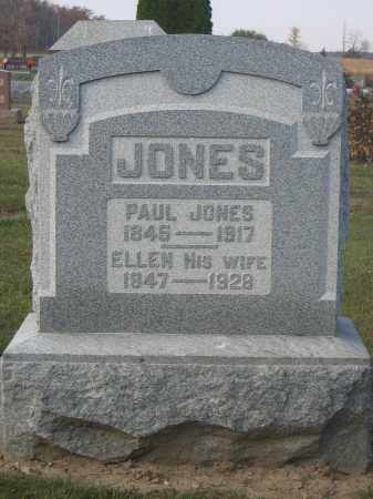 JONES, ELLEN - Union County, Ohio | ELLEN JONES - Ohio Gravestone Photos