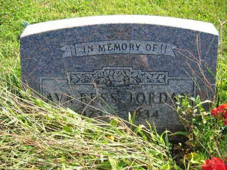 JORDAN, AVA BESS - Union County, Ohio | AVA BESS JORDAN - Ohio Gravestone Photos