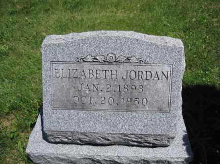 JORDAN, ELIZABETH - Union County, Ohio | ELIZABETH JORDAN - Ohio Gravestone Photos
