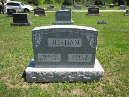 JORDAN, EMMA M. - Union County, Ohio | EMMA M. JORDAN - Ohio Gravestone Photos
