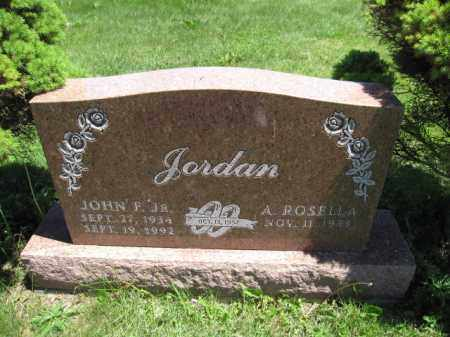 JORDAN, A. ROSELLA - Union County, Ohio | A. ROSELLA JORDAN - Ohio Gravestone Photos
