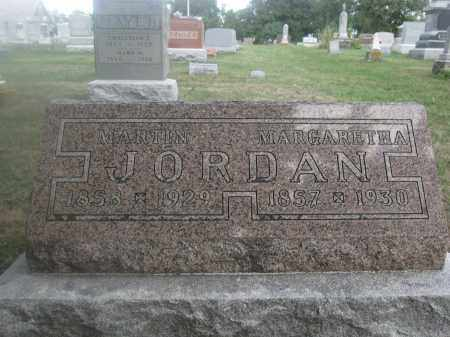 JORDAN, MARGARETHA - Union County, Ohio | MARGARETHA JORDAN - Ohio Gravestone Photos