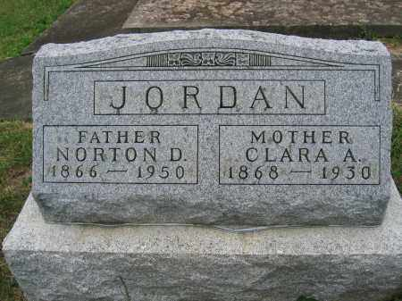 JORDAN, CLARA A. - Union County, Ohio | CLARA A. JORDAN - Ohio Gravestone Photos