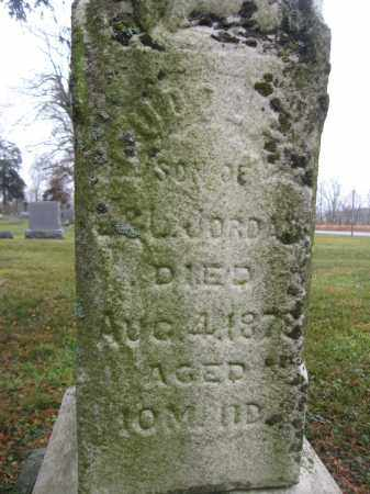 JORDAN, RUDOLPH - Union County, Ohio | RUDOLPH JORDAN - Ohio Gravestone Photos