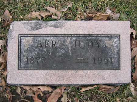 JUDY, BERT - Union County, Ohio | BERT JUDY - Ohio Gravestone Photos