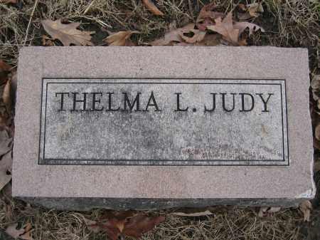 JUDY, THELMA L. - Union County, Ohio | THELMA L. JUDY - Ohio Gravestone Photos