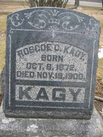 KAGY, ROSCOE C. - Union County, Ohio | ROSCOE C. KAGY - Ohio Gravestone Photos