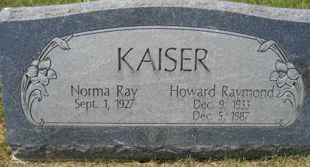KAISER, NORMA RAY - Union County, Ohio | NORMA RAY KAISER - Ohio Gravestone Photos
