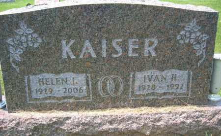 KAISER, IVAN H. - Union County, Ohio | IVAN H. KAISER - Ohio Gravestone Photos