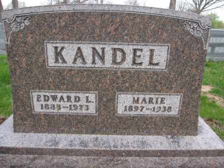 KANDEL, EDWARD L. - Union County, Ohio | EDWARD L. KANDEL - Ohio Gravestone Photos