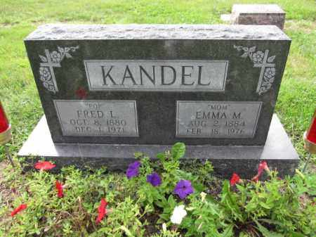 KANDEL, EMMA M. - Union County, Ohio | EMMA M. KANDEL - Ohio Gravestone Photos