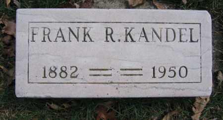 KANDEL, FRANK R. - Union County, Ohio | FRANK R. KANDEL - Ohio Gravestone Photos