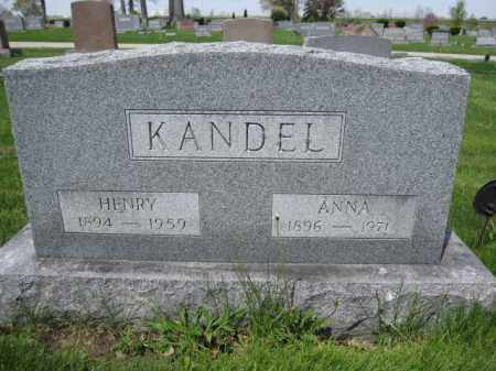 KANDEL, HENRY - Union County, Ohio | HENRY KANDEL - Ohio Gravestone Photos