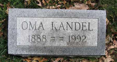 KANDEL, OMA - Union County, Ohio | OMA KANDEL - Ohio Gravestone Photos