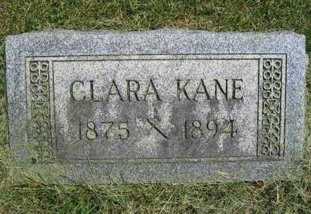 KANE, CLARA - Union County, Ohio | CLARA KANE - Ohio Gravestone Photos