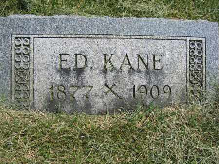 KANE, ED - Union County, Ohio | ED KANE - Ohio Gravestone Photos