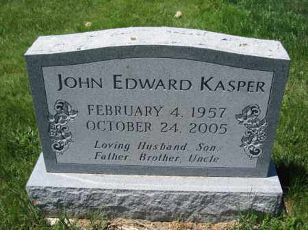 KASPER, JOHN EDWARD - Union County, Ohio | JOHN EDWARD KASPER - Ohio Gravestone Photos
