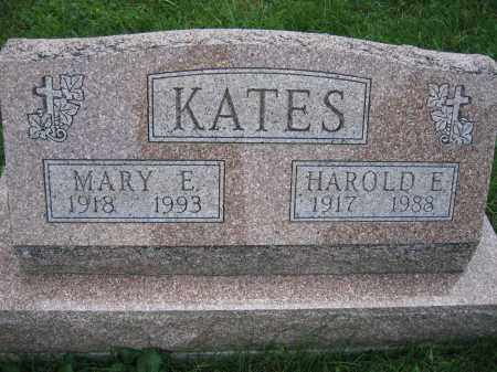 KATES, MARY E. - Union County, Ohio | MARY E. KATES - Ohio Gravestone Photos