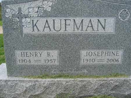 KAUFMAN, JOSEPHINE - Union County, Ohio | JOSEPHINE KAUFMAN - Ohio Gravestone Photos