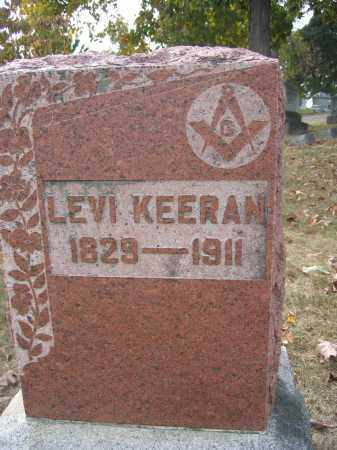 KEERAN, LEVI - Union County, Ohio | LEVI KEERAN - Ohio Gravestone Photos