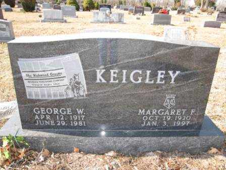 KEIGLEY, GEORGE W. - Union County, Ohio | GEORGE W. KEIGLEY - Ohio Gravestone Photos