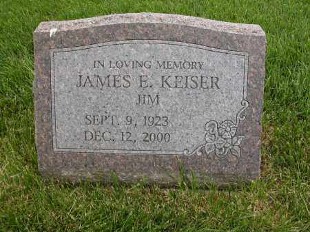 KEISER, JAMES E. - Union County, Ohio | JAMES E. KEISER - Ohio Gravestone Photos