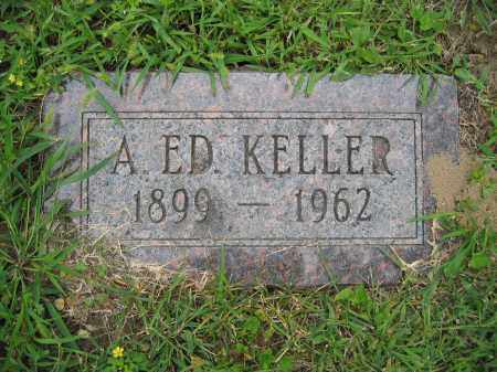 KELLER, A. ED. - Union County, Ohio | A. ED. KELLER - Ohio Gravestone Photos