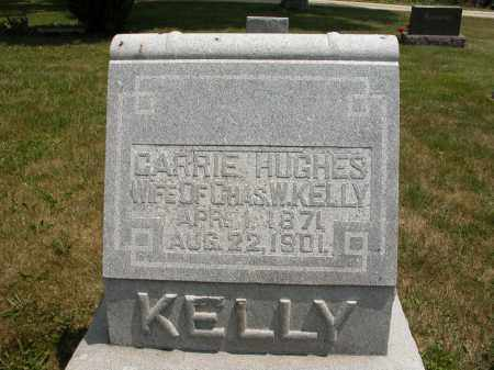 KELLY, CARRIE HUGHES - Union County, Ohio | CARRIE HUGHES KELLY - Ohio Gravestone Photos