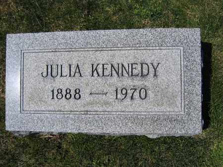 KENNEDY, JULIA - Union County, Ohio | JULIA KENNEDY - Ohio Gravestone Photos