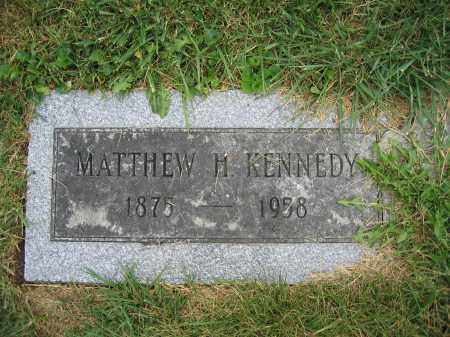 KENNEDY, MATTHEW H. - Union County, Ohio | MATTHEW H. KENNEDY - Ohio Gravestone Photos