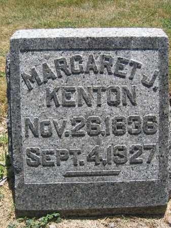 KENTON, MARGARET J. - Union County, Ohio | MARGARET J. KENTON - Ohio Gravestone Photos