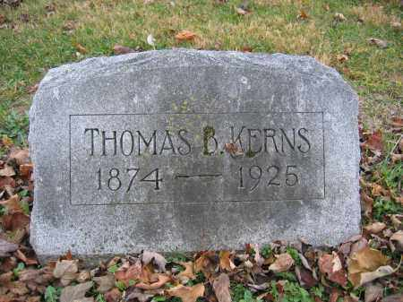 KERNS, THOMAS B. - Union County, Ohio | THOMAS B. KERNS - Ohio Gravestone Photos