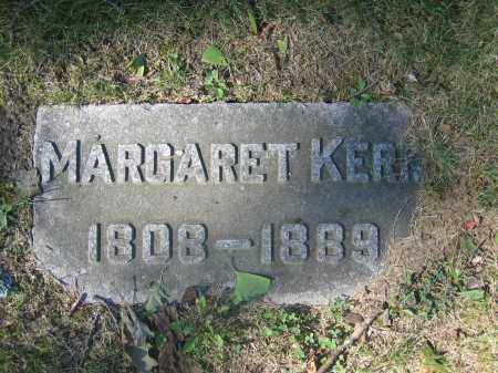 KERR, MARGARET - Union County, Ohio | MARGARET KERR - Ohio Gravestone Photos