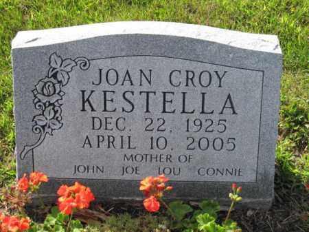 KESTELLA, JOAN CROY - Union County, Ohio | JOAN CROY KESTELLA - Ohio Gravestone Photos