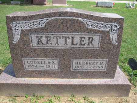 KETTLER, LOUELLA K. - Union County, Ohio | LOUELLA K. KETTLER - Ohio Gravestone Photos