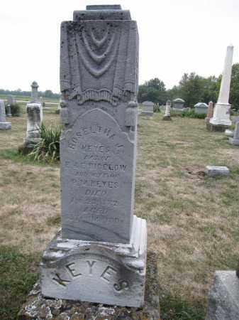 KEYS, ROSELTHA J. BIGELOW - Union County, Ohio | ROSELTHA J. BIGELOW KEYS - Ohio Gravestone Photos
