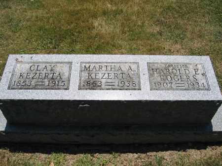 KEZERTA, CLAY - Union County, Ohio | CLAY KEZERTA - Ohio Gravestone Photos
