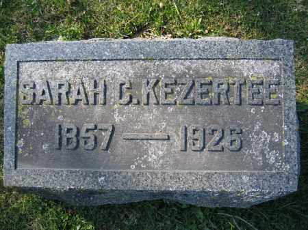 KEZERTEE, SARAH C - Union County, Ohio | SARAH C KEZERTEE - Ohio Gravestone Photos